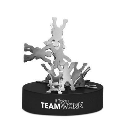 DESK71 Teamwork paper clip holder