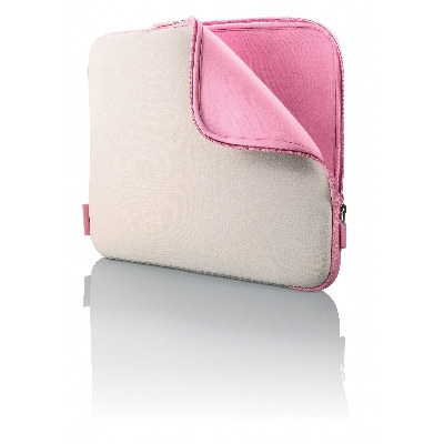 NEOP18 Neoprene Laptop Sleeve With Zipper, Dual Colour Inner And Outer