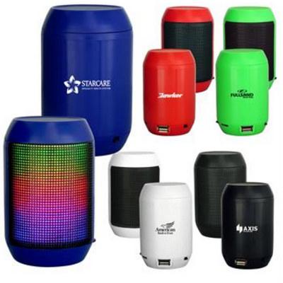 Barrel Light Up Bluetooth Speaker