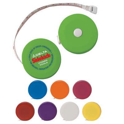 Round Retractable Tape Measure