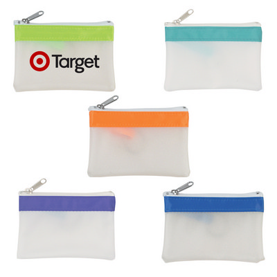 Coin Pouch With Zipper - (printed with 1 colour(s)) OH9481_OC