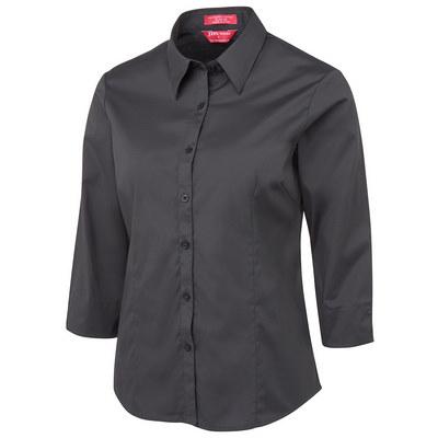 JBs Ladies Urban 34 Poplin Black Shirt