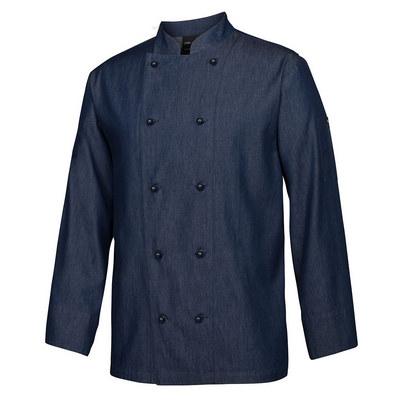 JBs Denim LS Chefs Jacket