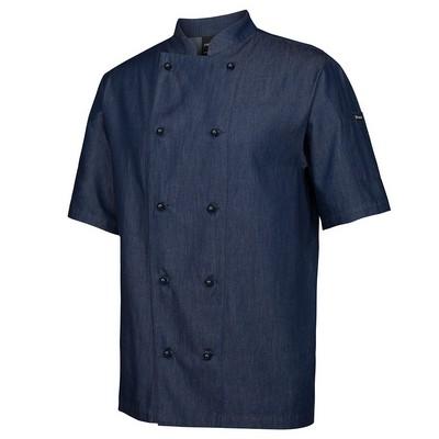 JBs Denim SS Chefs Jacket