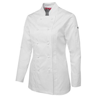 JBs Ladies LS Chefs Jacket