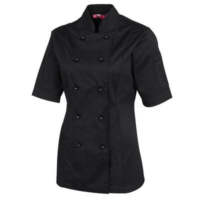 JBs Ladies SS Chefs Jacket