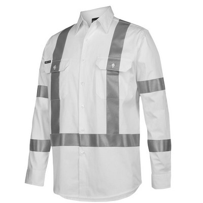 JB`S BIOMOTION NIGHT 190G SHIRT WITH REFLECTIVE TAPE