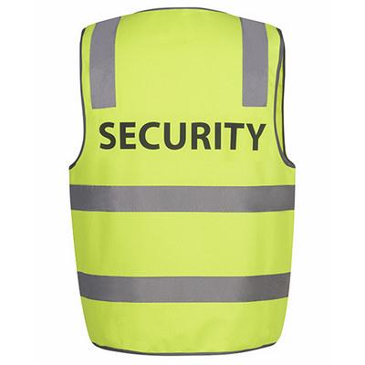 JBs Hv (D+N) Safety Vest Print Security