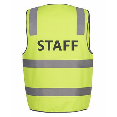 JBs Hv (D+N) Safety Vest Print Staff