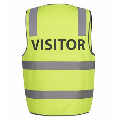 JBs Hv (D+N) Safety Vest Print Visitor