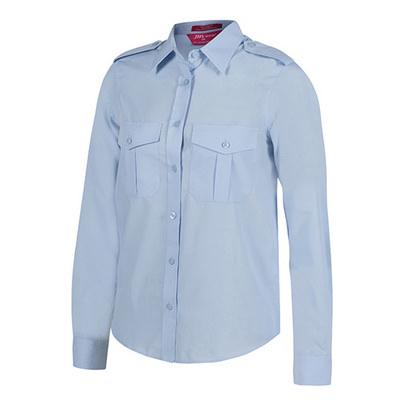 JBs Ladies LS Epaulette Shirt