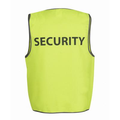 JBs Hv Safety Vest Print Security
