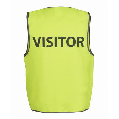 JBs Hv Safety Vest Print Visitor