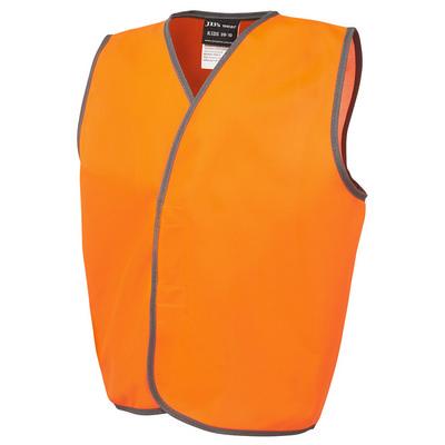 JBs Hv Kids Safety Vest Lime - 0-02