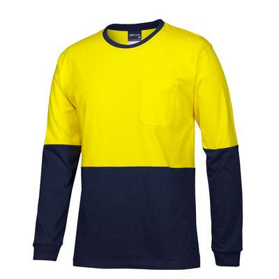 JBs Hv LS Crew Neck Cotton T-Shirt