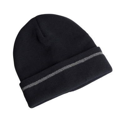JB`S REFLECTIVE BEANIE - HIGH PROFILE