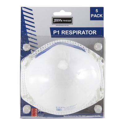 JBS BLISTER (5PC) P1 RESPIRATOR
