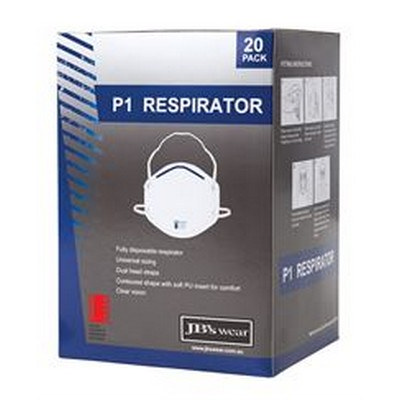 JBS P1 RESPIRATOR (20PC)