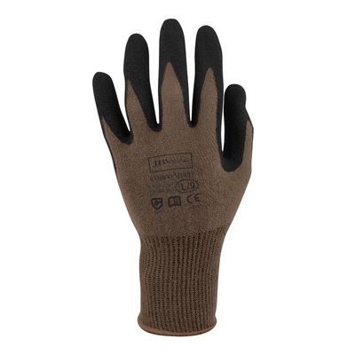JB`s Bamboo Sandy Nitrile 1/2 Dipped Glove