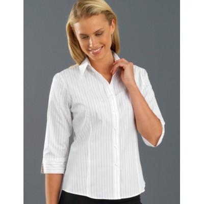 Fine Stripe Womens Business Shirt