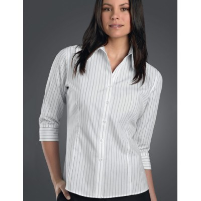 Classic Stripe Womens Business Shirt