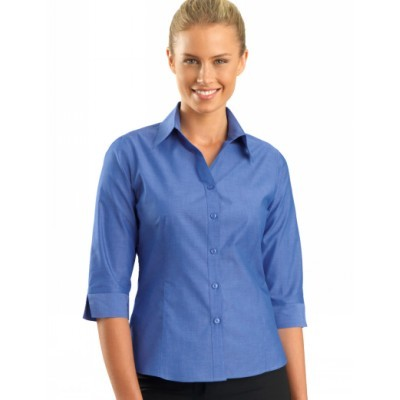 Chambray Womens Business Shirt