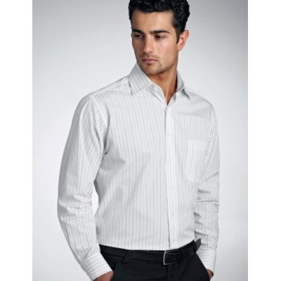 Fine Stripe Mens Business Shirt