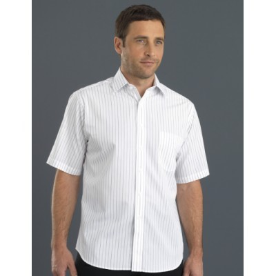 Classic Stripe Mens Business Shirt
