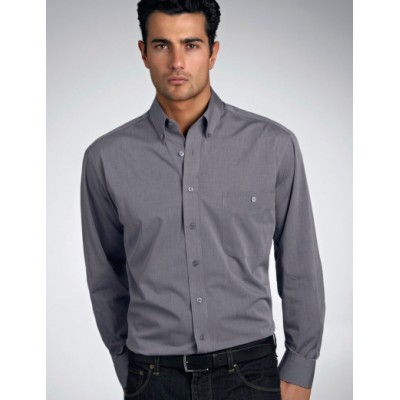Chambray Mens Business Shirt