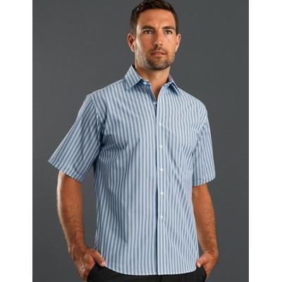 Forest- Mens Short Sleeve Fashion Stripe