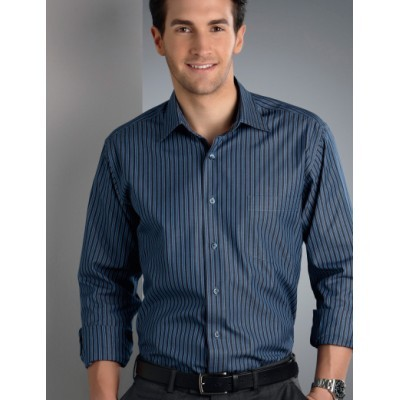 Bold Stripe Mens Business Shirt