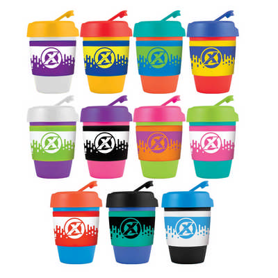 Kick Coffee Cup  Silicone Band
