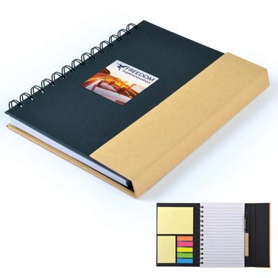 Trek Recyclable Notebook / Noteflags / Pen LL0946_LL