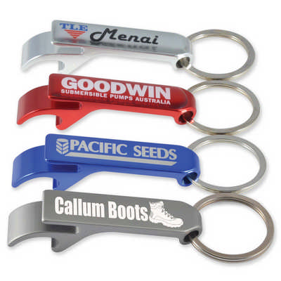 Cheers Bottle Opener  Keytag