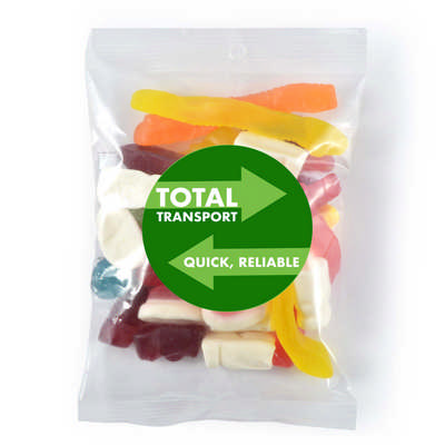 Assorted Jelly Party Mix in 180g Cello Bag