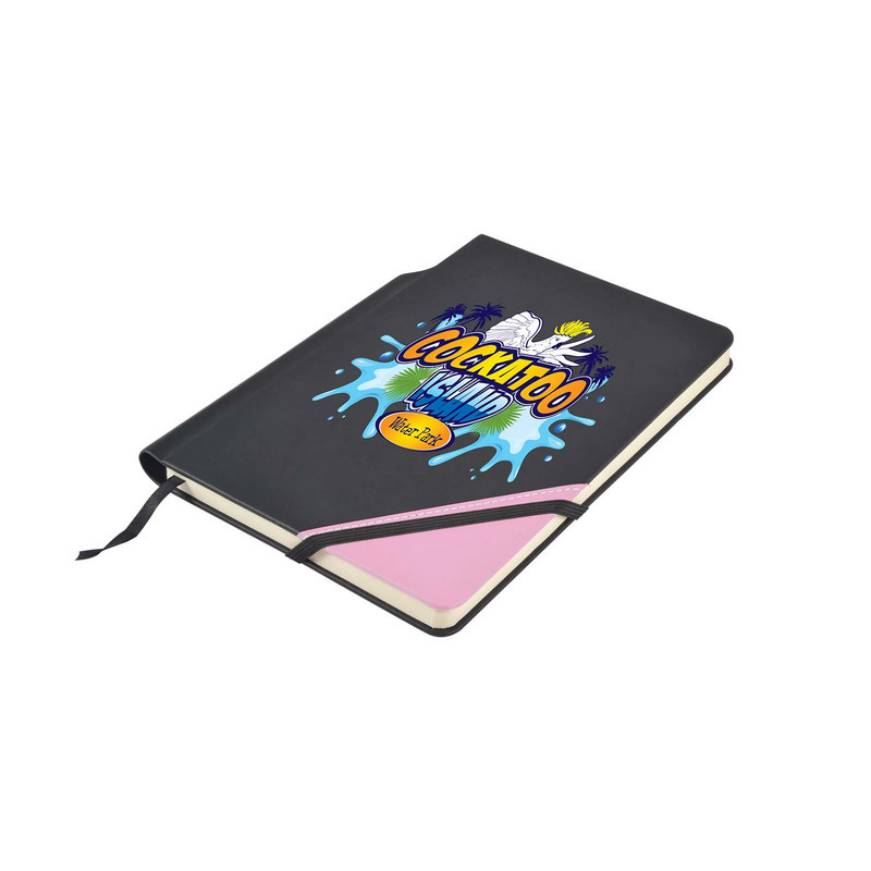 Argos A5 Notebook with Pen Holder in Spine