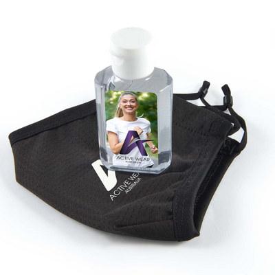 Cooling Face Mask / Hand Sanitiser Pack