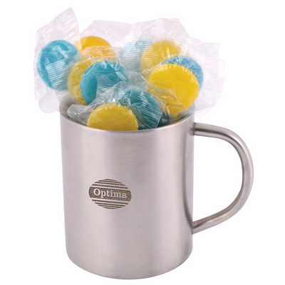 Corporate Colour Lollipops in Java Mug