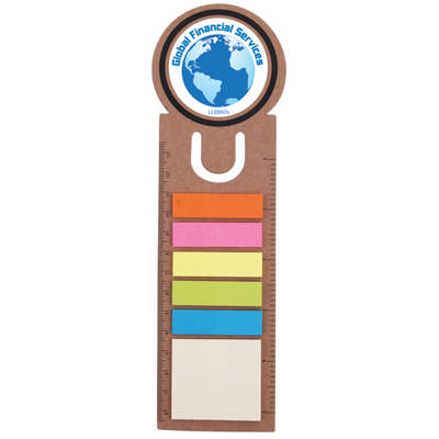 Circle Bookmark  Ruler with Noteflags