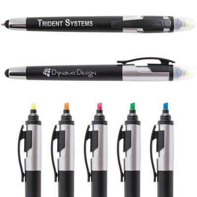 Trident Pen  Stylus Highlighter