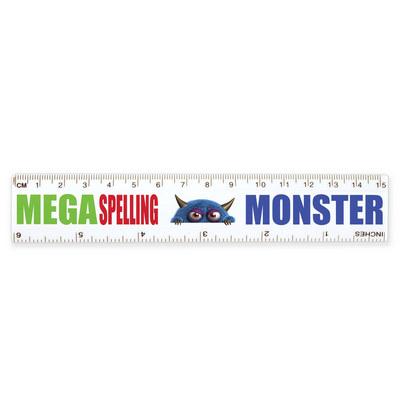 White 15cm Ruler