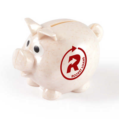 World s Smallest Pig Eco Coin Bank