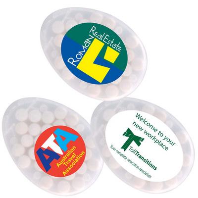 Egg Shape Sugar Free Breath Mints (LL062_LLPRINT)