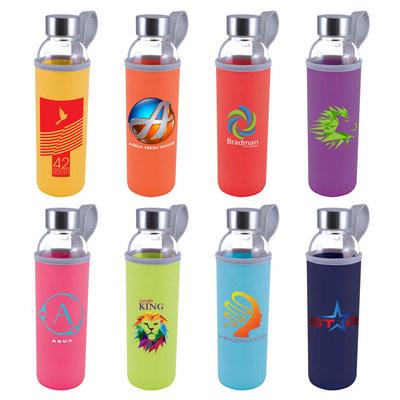 Capri Glass Bottle  Neopren