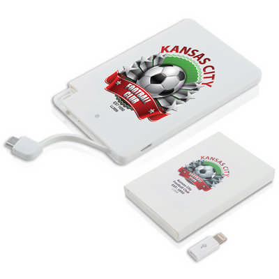 Picture Power Bank - (printed with 1 colour(s)) LL3009_LLPRINT