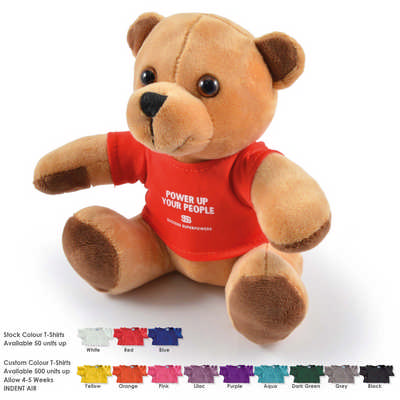 Honey Plush Teddy Bear (LL30193_LLPRINT)