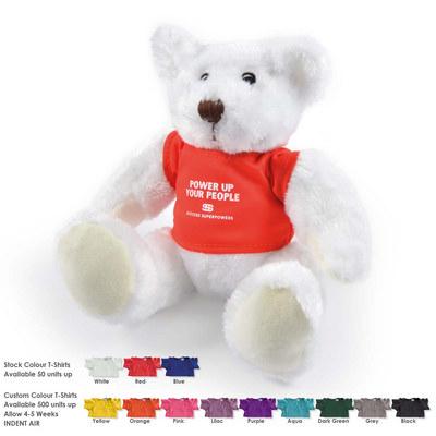 Frosty Plush Teddy Bear (LL40883_LLPRINT)