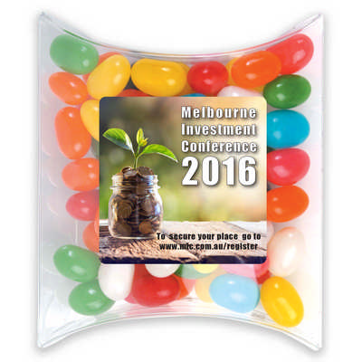 Assorted Colour Mini Jelly Beans in Pillow Pack - (printed with 4 colour(s)) LL4846_LLPRINT
