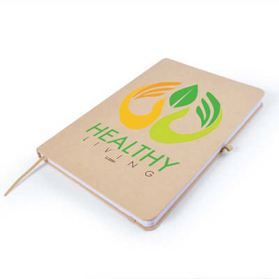Venture A5 Natural Notebook