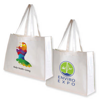 Giant Bamboo Carry Bag with Double Handles - (printed with 1 colour(s)) LL516_LLPRINT